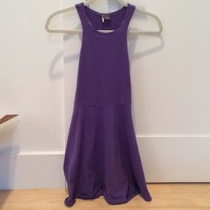 Urban outfitters purple high neck dress